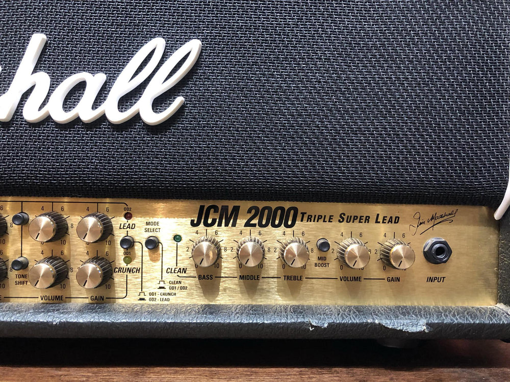 Marshall JCM2000 TSL100 - British Audio