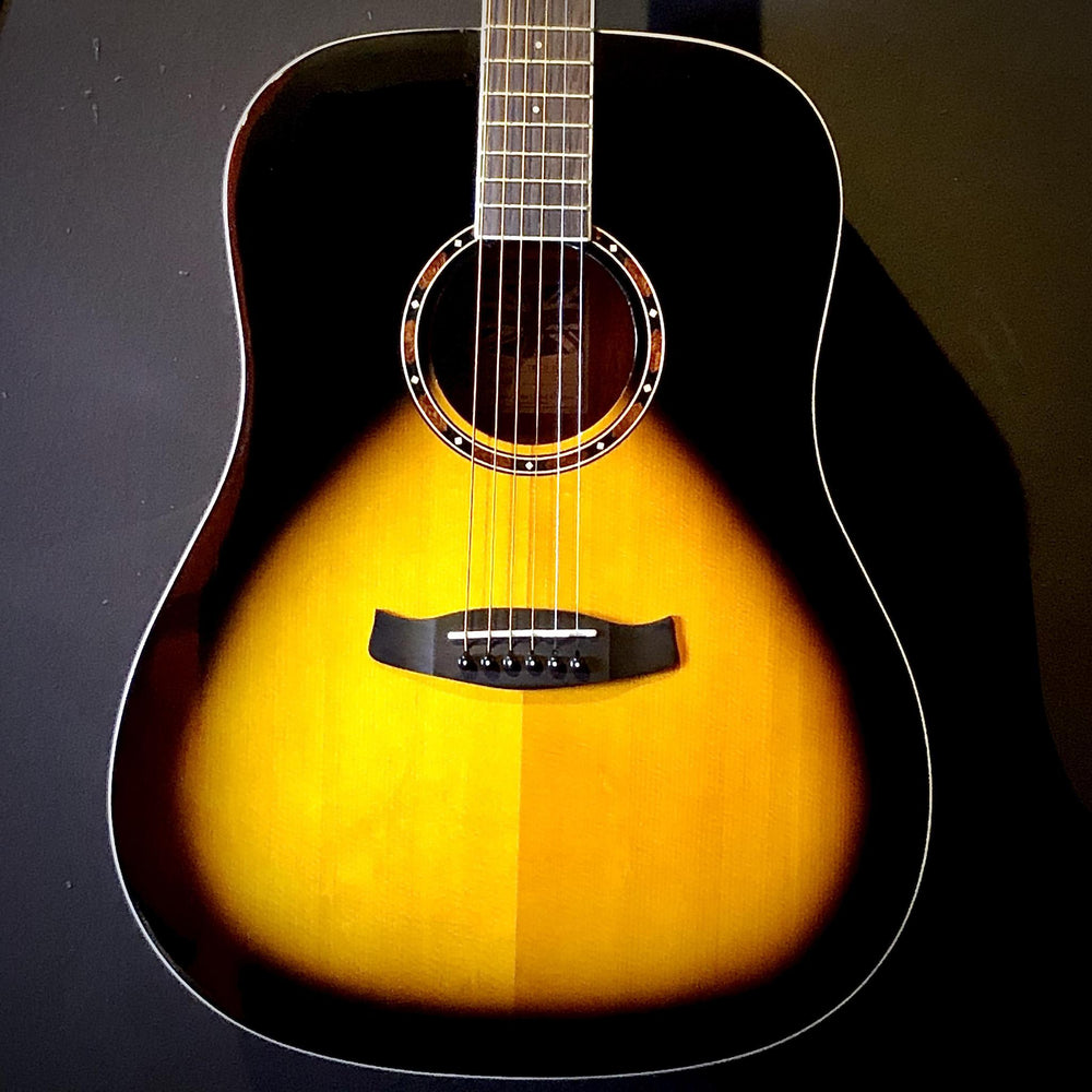 Tanglewood TWKDVS Acoustic Guitar Dreadnought Vintage Sunburst Gloss Top - British Audio