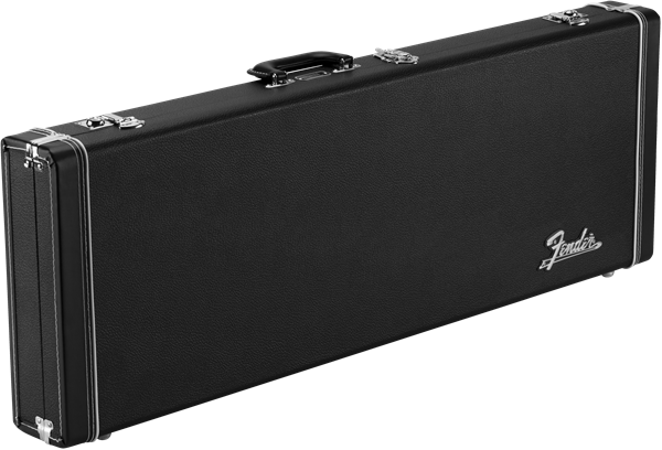 Fender Classic Series Wood Case - Strat®/Tele®, Black - British Audio