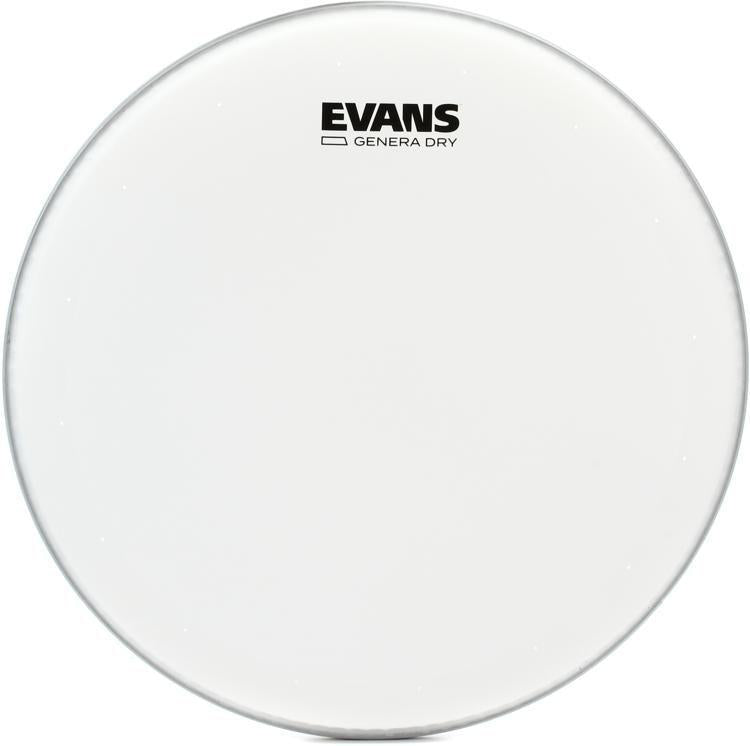 "Evans Genera Dry Snare Batter Coated Head  14""  (B14DRY) - British Audio"