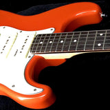 Vintage® V6PFR Electric Guitar Firenza Red - British Audio
