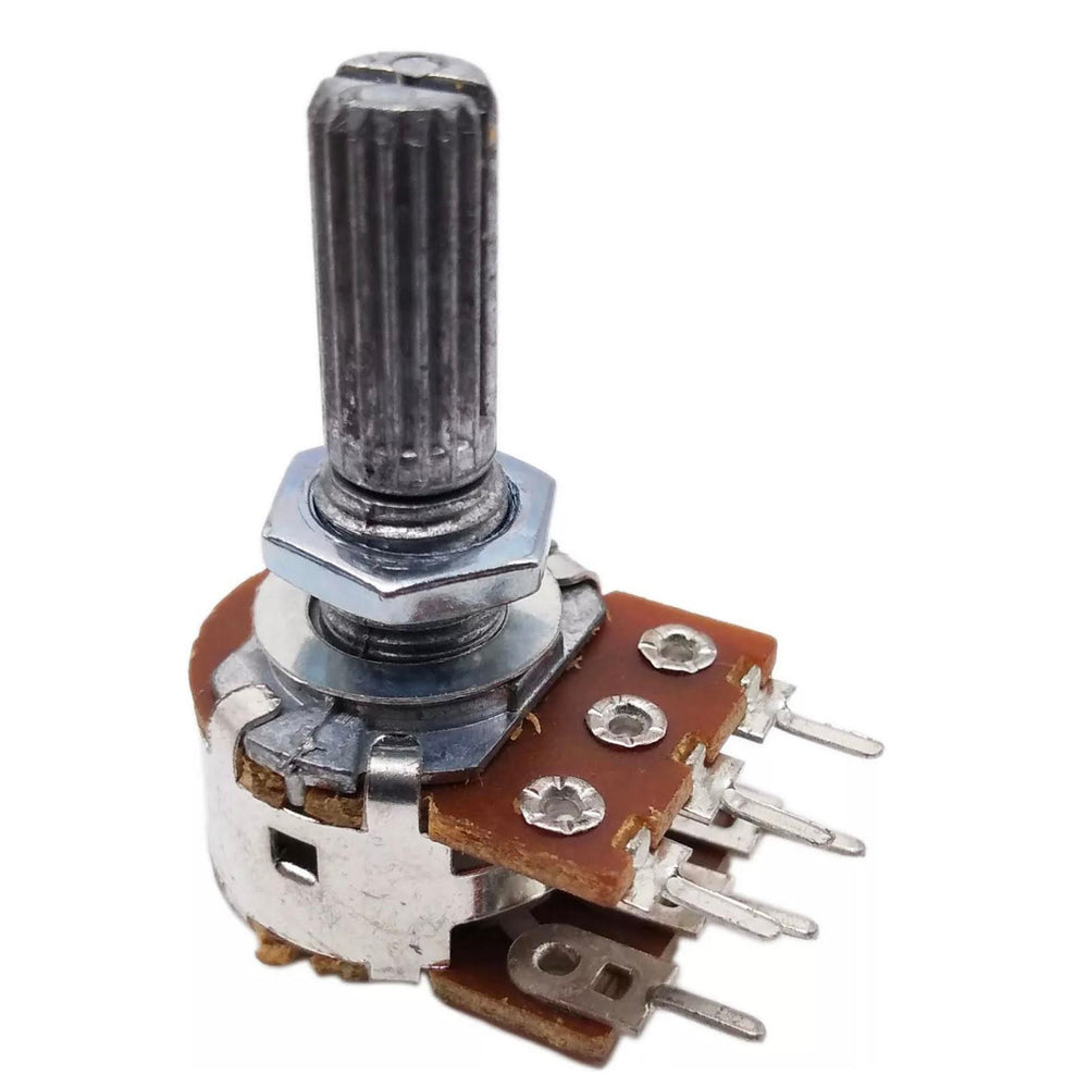 B50K Dual Gang Potentiometer ~ Linear Taper