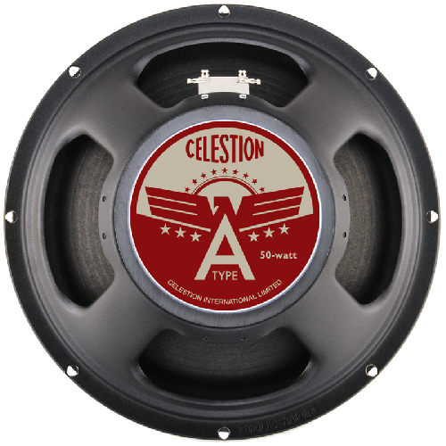 "Celestion A Type 12"", 50 Watt Guitar Loudspeaker - 8 Ohm - British Audio"