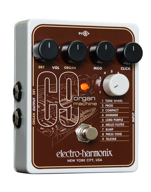 Electro-Harmonix C9 Organ Machine Effects Pedal Pre-Owned - British Audio