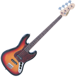 Vintage® VJ74SSB 'Sunset Sunburst'  Bass Guitar - British Audio