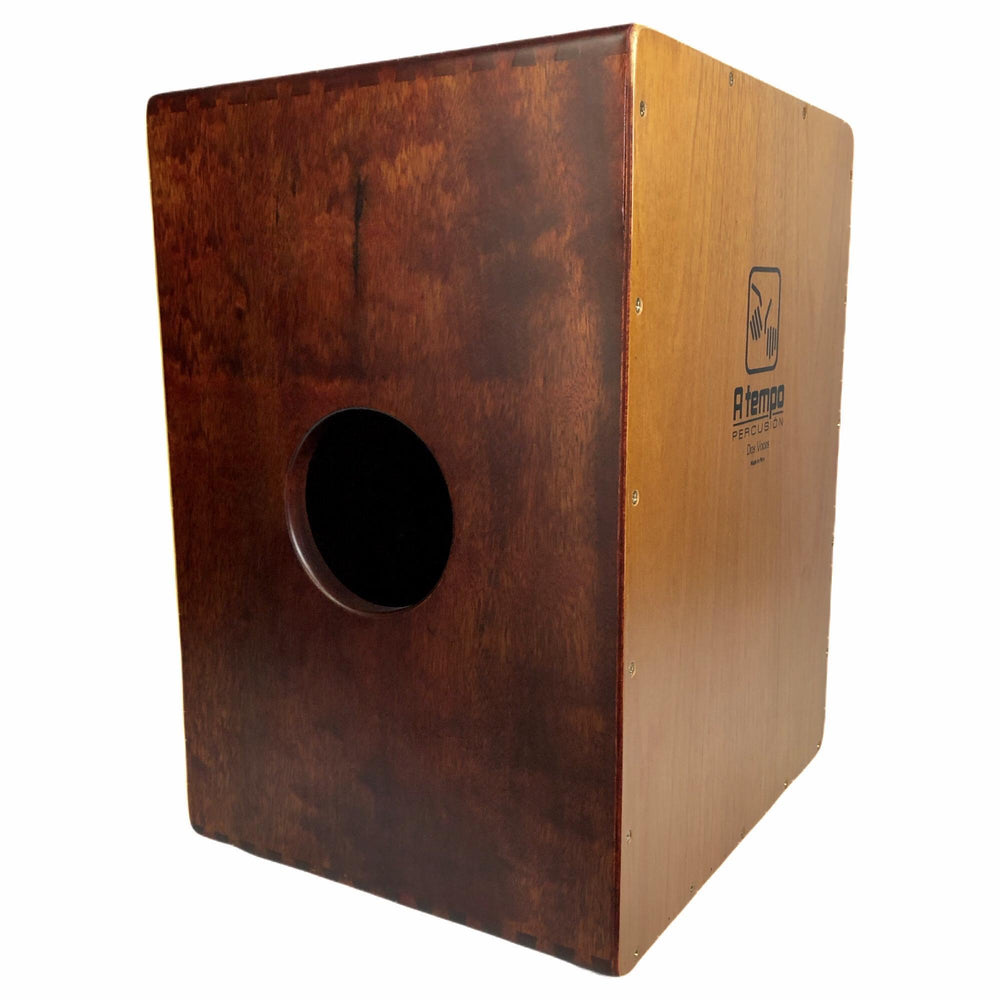 A Tempo Percussion Dos Voces (Two Voices) Cajon with Bag ~ Showroom Demo