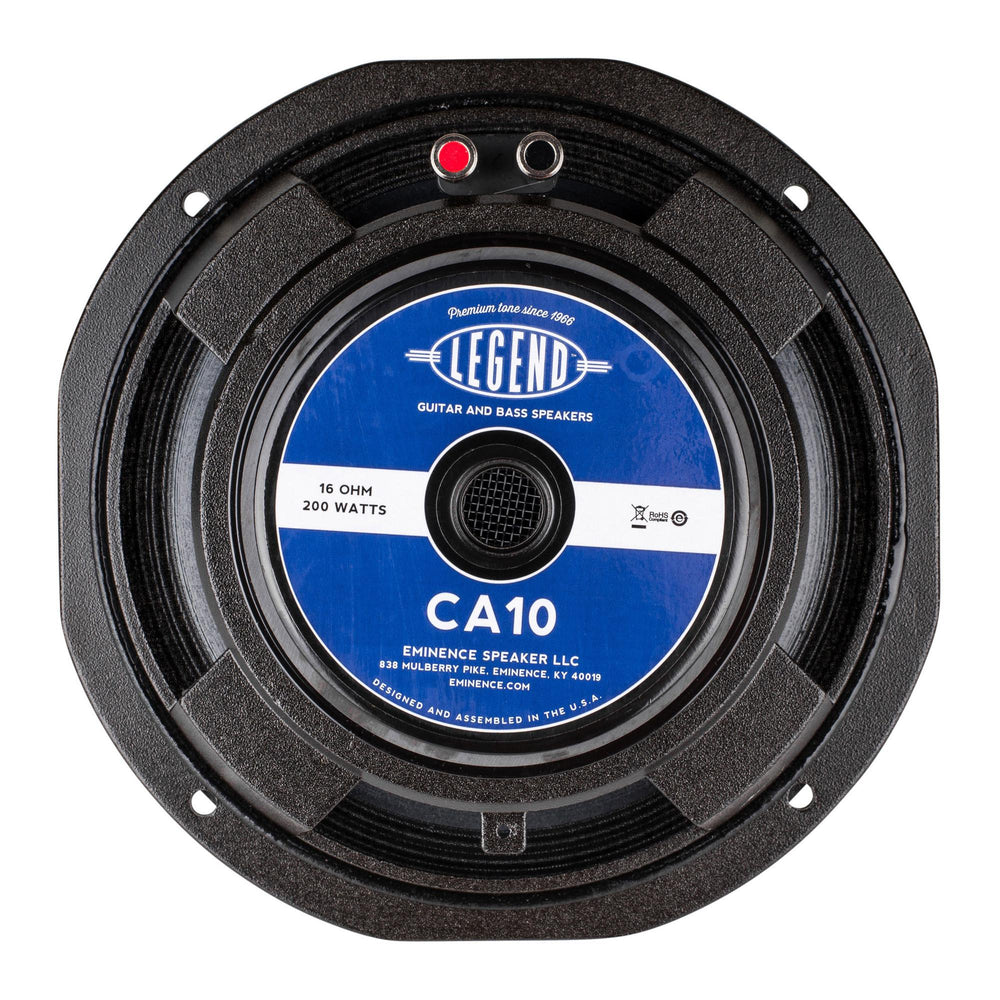 "Eminence Legend CA10-16 10"" Bass Guitar Driver 16 Ohm - British Audio"