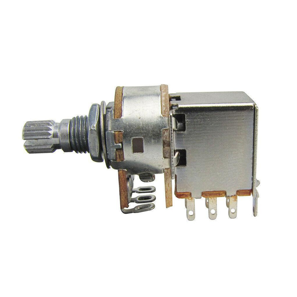 Alpha 250K Push Pull Potentiometer 7mm Shaft with DPDT Switch
