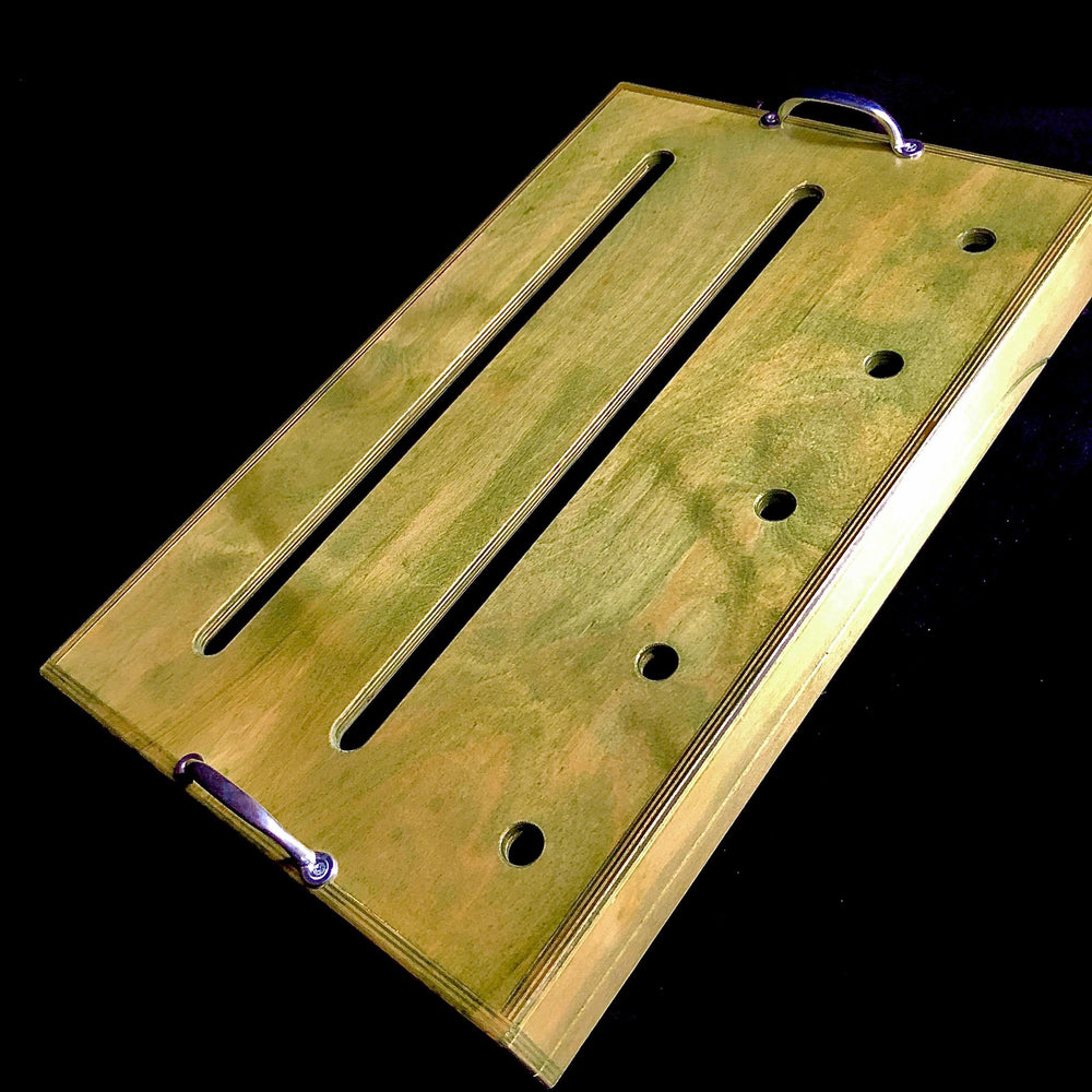 "Sam Hill Custom ""Moss""  Pedalboard - British Audio"