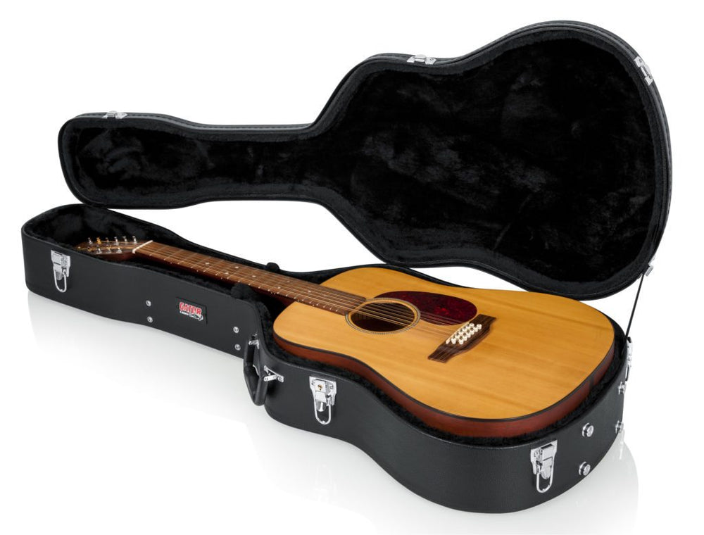 Gator 6 and 12 String Dreadnought Guitar Case - British Audio