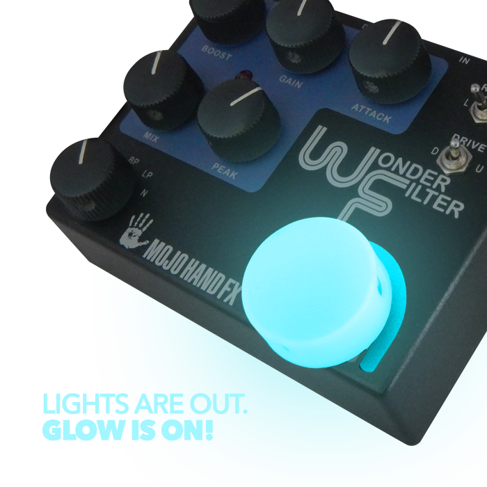 Barefoot Buttons Glowcaps - Light Blue - British Audio
