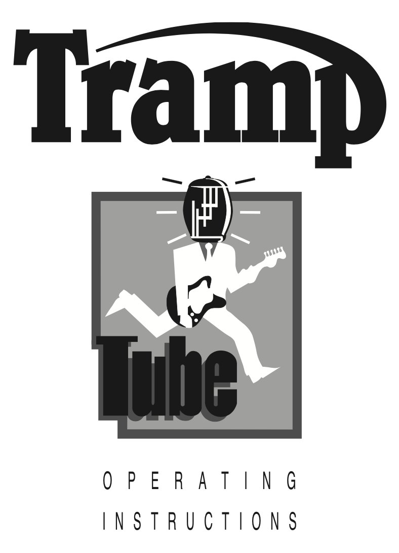 Trace Elliot Tramp Tube User Manual - British Audio