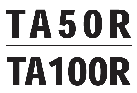 Trace Elliot TA50R, TA100R, TACON Service Manual - British Audio