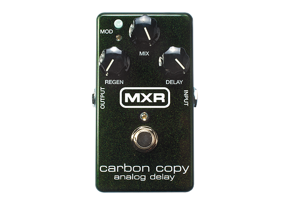 MXR Carbon Copy Analog Delay - British Audio