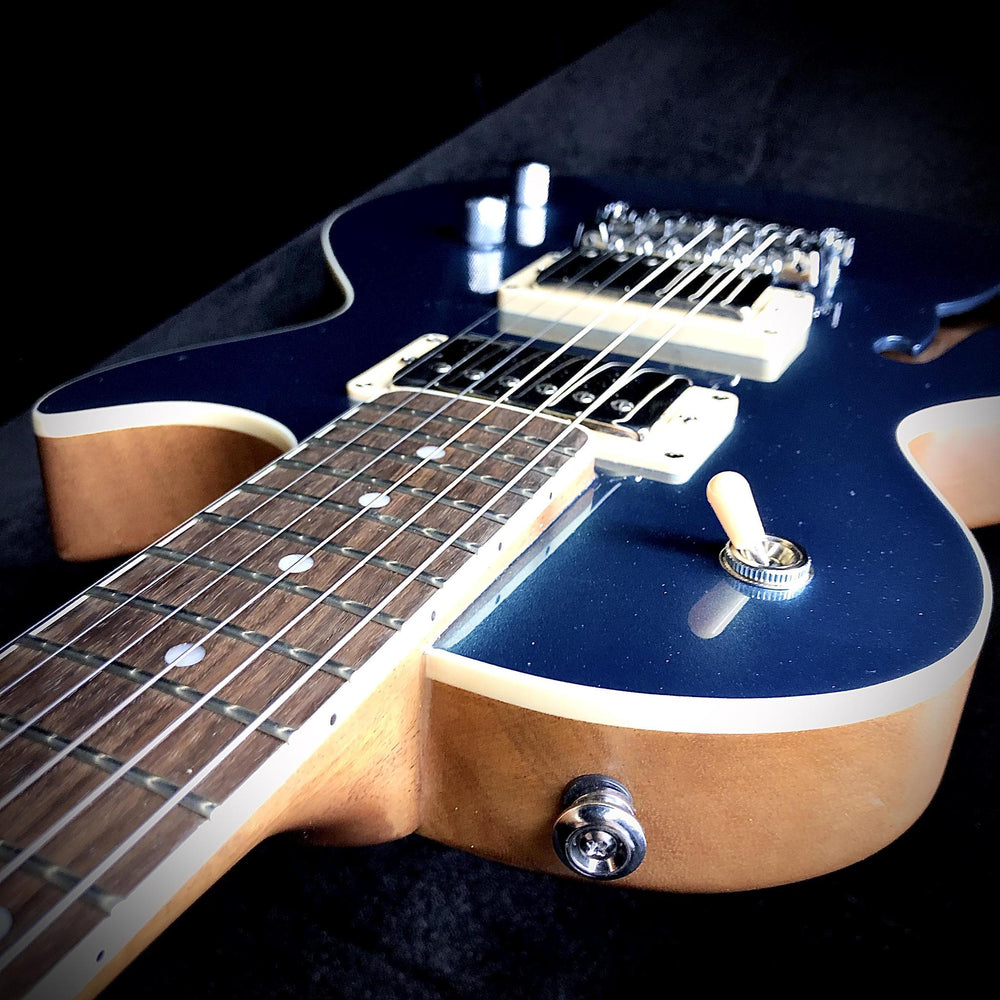 Gordon Smith Custom Semi Hollow Trafalgar Blue - British Audio