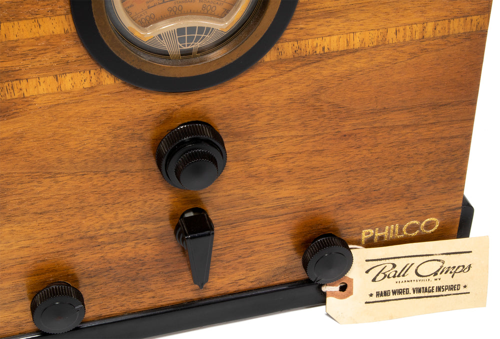 Ball Amps Bullet Radio - British Audio