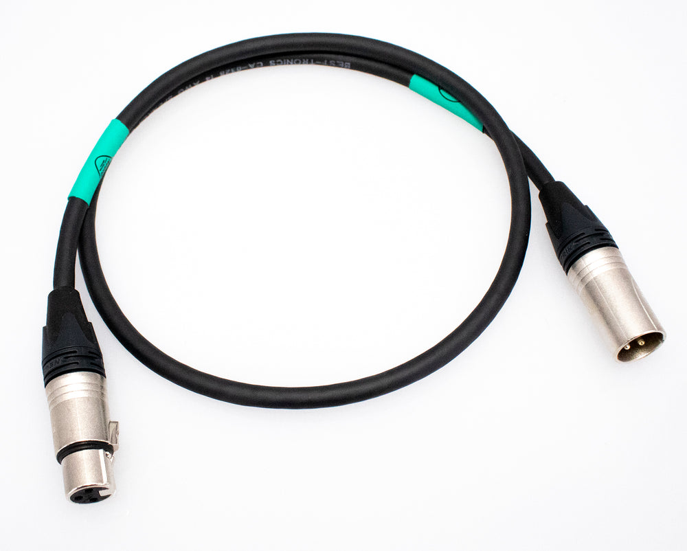 M-XLR to F-XLR Speaker Cable for vintage Trace Elliot Bass Amps - British Audio