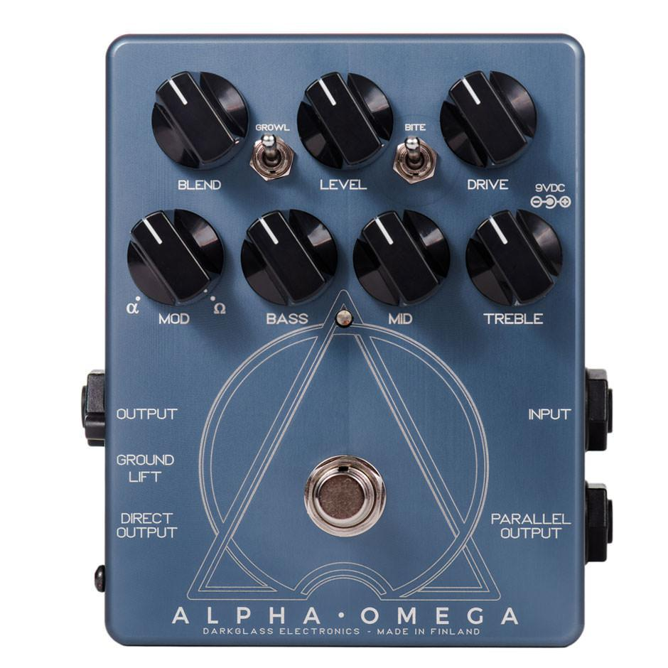 Darkglass Alpha Omega Dual Bass Preamp/OD Pedal - British Audio