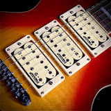 Vintage V100 triple pickup ACE  Glamtastic Cherry Sunburst - British Audio
