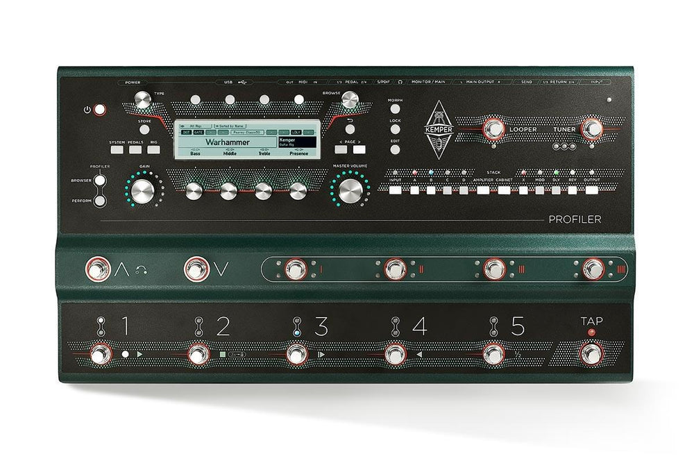 Kemper Profiler Stage™ - British Audio