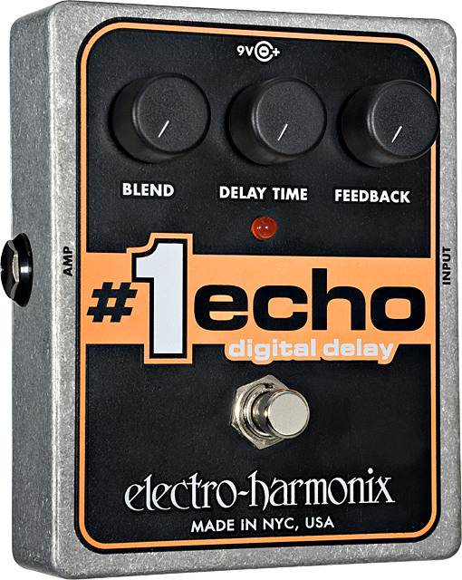 Electro-Harmonix #1 Echo Digital Delay Pedal - British Audio