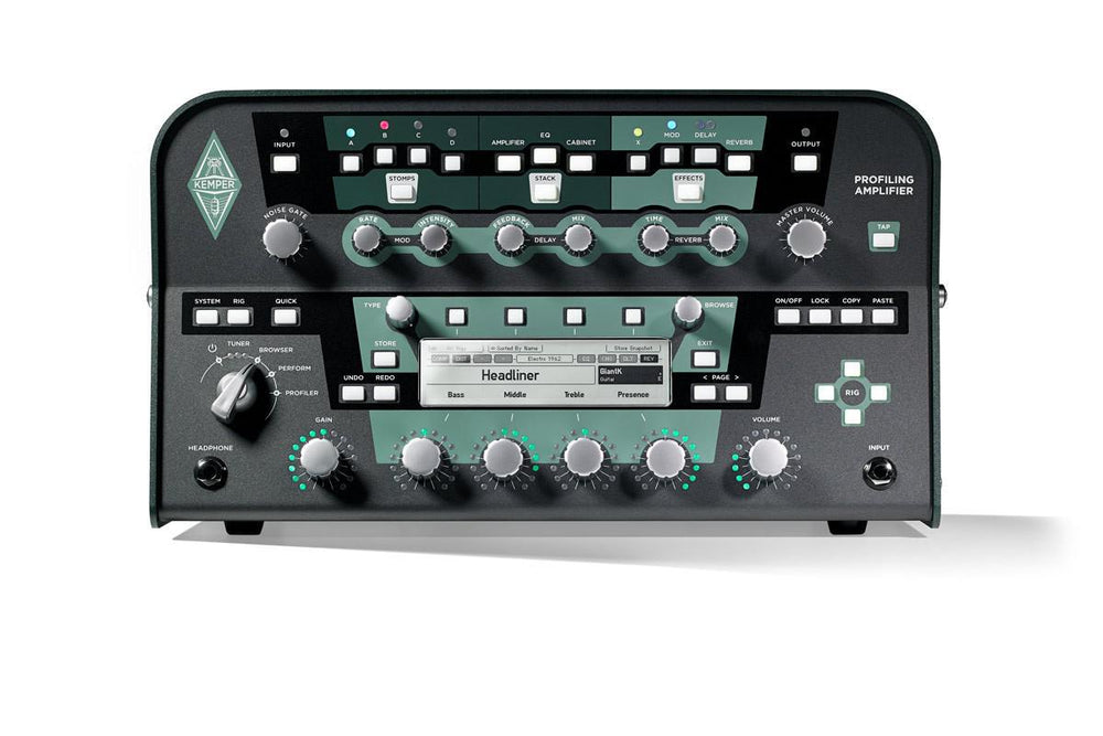 Kemper Profiler™ Head Black - British Audio