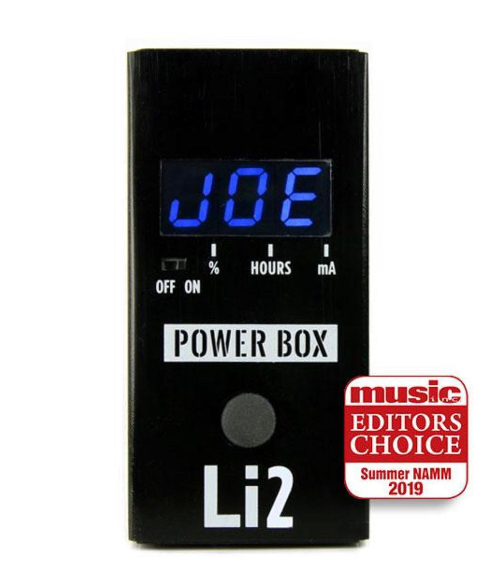 Big Joe Power Box Lithium Li2 - British Audio