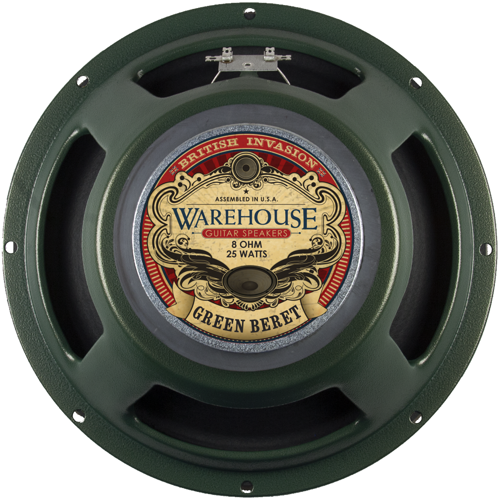 "WGS 12"" Green Beret - British Audio"