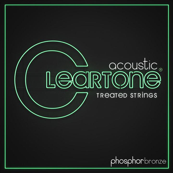Cleartone Acoustic Guitar Strings, Phosphor Bronze, Light 12-53 - British Audio