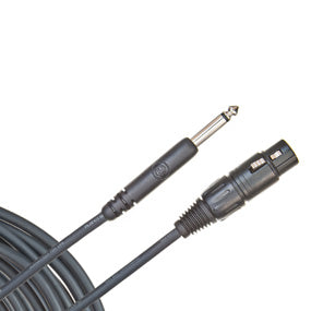 D'Addario Classic Series XLR Microphone Cable