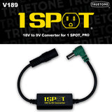 One Spot 18V to 9V Converter - British Audio