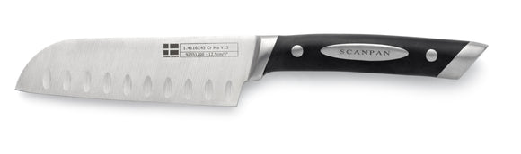 SCANPAN Santoku Knife with Grooves