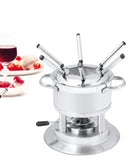 Swissmar Arosa 11 Pc Stainless Steel Fondue Set