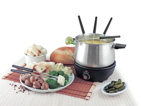 Swissmar Olten 9pc Electric Fondue Set