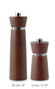 Salt and Pepper Mill | Wood | Chestnut Finish | Hamburg | Swissmar