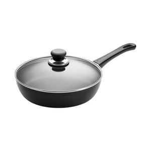 SCANPAN Classic Sauté Pan with Glass Lid