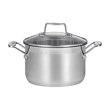 SCANPAN Impact Dutch Oven with Glass Lid