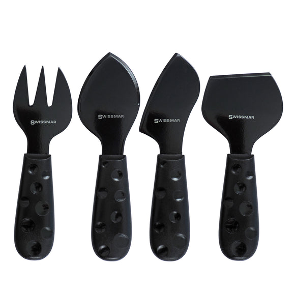 Cheese Knife Set | 4-Piece Petite Suisse | Swissmar