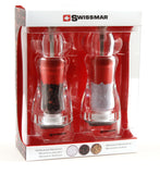 Salt and Pepper Mill Grinder Set | Acrylic | Swissmar