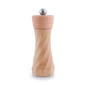 Salt and Pepper Mill | Wood | Natural Finish | Twist | Swissmar