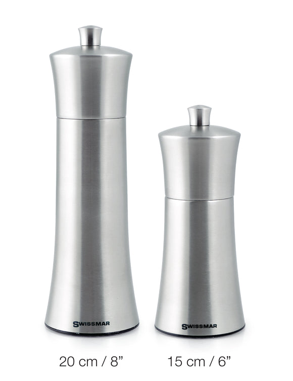 Swissmar Torre Brushed Stainless Steel Mill