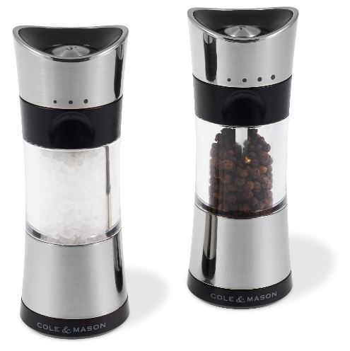 Salt and Pepper Mill Set | Horsham Chrome | Cole & Mason