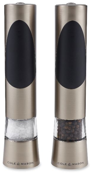 Salt and Pepper Mill Set | Richmond Electronic | Cole & Mason