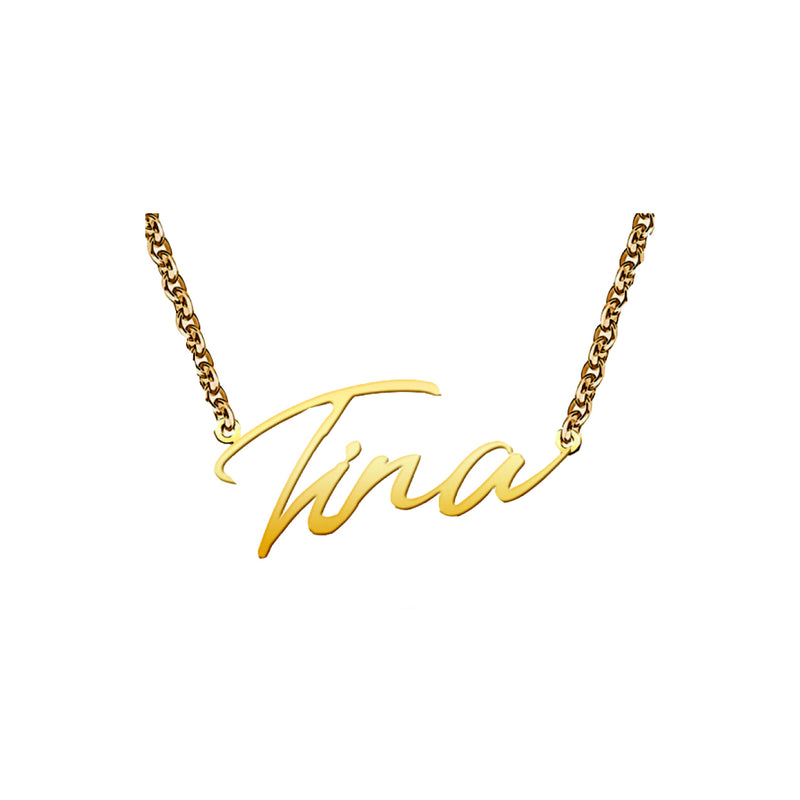 TINA Logo Necklace