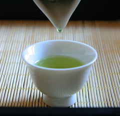 Japanese green tea cup