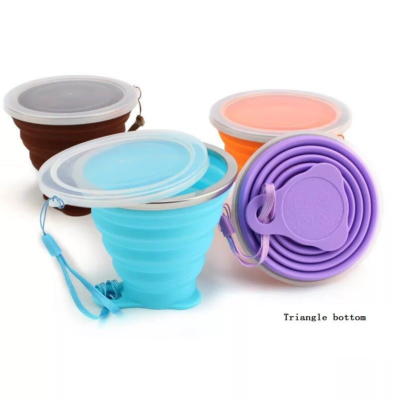 Silicone Collapsible Travel Cups