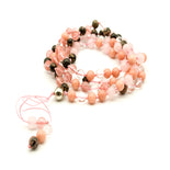 Love & Wisdom 108 Mala Gemstone Necklace