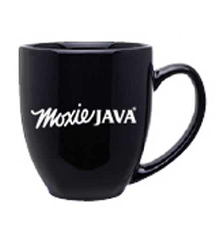 16 oz ceramic barrel mug, moxie java, merchandise