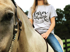 Farm Hair Don't Care T-Shirt
