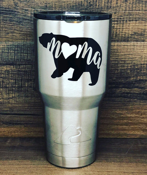 Mama Bear Tumbler- Best seller- Mother's Day